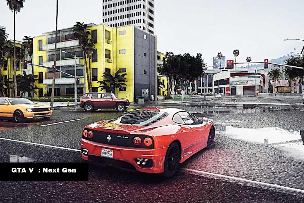 GTA V  : Next Gen