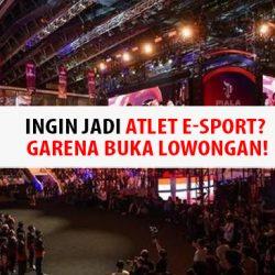 Ingin Jadi Atlet E-sport? Garena Buka Lowongan!
