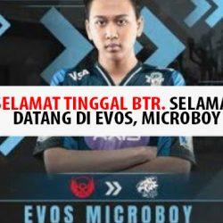 PUBG Microboy pindahke Evos