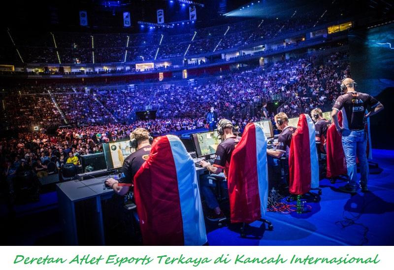 Deretan Atlet Esports Terkaya di Kancah Internasional