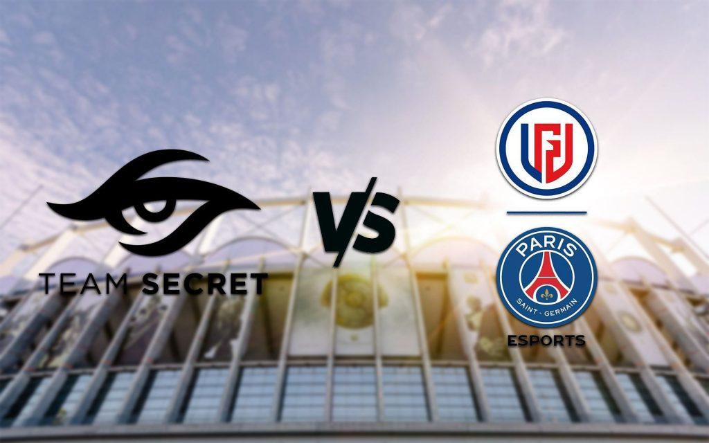 Pertandingan Dota 2 Team Secret vs PSG.LGD